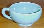 FRANCISCAN POTTERY EL PATIO EARLY GLACIAL BLUE TEA CUP!