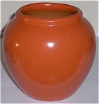 Click to view larger image of PFALTZGRAFF ART POTTERY URANIUM ORANGE #104 VASE! (Image1)
