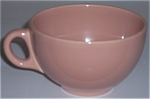 FRANCISCAN POTTERY EL PATIO GLOSS CORAL JUMBO CUP!