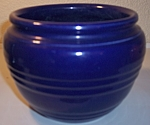 PACIFIC POTTERY COBALT BANDED JARDINIERE!