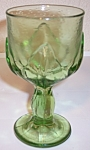 FRANCISCAN POTTERY CRYSTAL CABARET GREEN WATER GOBLET!