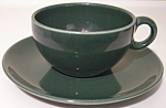 RUSSEL WRIGHT POTTERY IROQUOIS PARSLEY CUP/SAUCER SET!