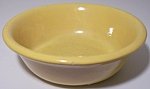 Click to view larger image of BAUER POTTERY PLAIN WARE YELLOW #1 PUDDING BOWL! (Image1)
