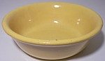 BAUER POTTERY PLAIN WARE YELLOW PUDDING BOWL!