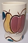 Click to view larger image of PURINTON POTTERY FRUIT WATER TUMBLER! MINT! (Image1)