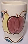 PURINTON POTTERY FRUIT WATER TUMBLER! MINT!