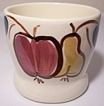 PURINTON POTTERY FRUIT JUICE TUMBLER! MINT!