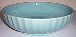 Click here to enlarge image and see more about item 14994: GARDEN CITY POTTERY EARLY RIBBED LT BLUE ART BOWL!