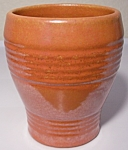 Click to view larger image of PACIFIC POTTERY HOSTESS WARE APACHE RED BARREL TUMBLER! (Image1)