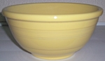 PACIFIC POTTERY HOSTESS WARE YELLOW 18R MIX BOWL!