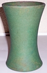 BAUER POTTERY MATT CARLTON MATTE GREEN CARNATION VASE!
