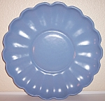 Click to view larger image of FRANCISCAN POTTERY RANCHO WARE BLUE CHOP PLATE! (Image1)