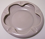 FRANCISCAN POTTERY EL PATIO SATIN GREY LARGE ASHTRAY!
