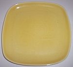 WINFIELD CHINA POTTERY EARLY YELLOW/GREEN SALAD PLATE!