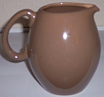 Click to view larger image of RUSSEL WRIGHT POTTERY CASUAL CHINA NUTMEG PITCHER! (Image1)