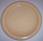 FRANCISCAN POTTERY SCULPTURES SAND DOLLAR LUNCH PLATE!