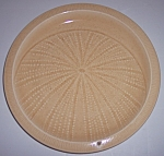 FRANCISCAN POTTERY SCULPTURES SAND URCHIN LUNCH PLATE!