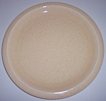 FRANCISCAN POTTERY SCULPTURES SAND PRIMARY DINNER PLATE