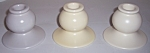 Click to view larger image of FRANCISCAN POTTERY EL PATIO SET/3 CANDLESTICKS! (Image1)