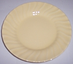 FRANCISCAN POTTERY CORONADO GLOSS YELLOW 6.5 PLATE!