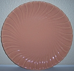 Franciscan Pottery Coronado Gloss Coral 14in Chop Plate