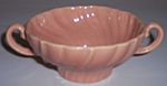 FRANCISCAN POTTERY CORONADO GLOSS CORAL CREAM SOUP BOWL
