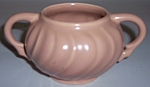 FRANCISCAN POTTERY CORONADO SATIN CORAL SUGAR BOWL!