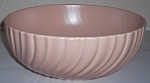 FRANCISCAN POTTERY CORONADO SATIN CORAL SALAD BOWL!