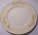 FRANCISCAN POTTERY FINE CHINA ACACIA BREAD PLATE!