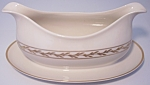 FRANCISCAN POTTERY FINE CHINA BEVERLY GRAVY BOWL!