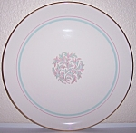 Click to view larger image of FRANCISCAN POTTERY FINE CHINA ROSSMORE CHOP PLATE! (Image1)