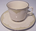 FRANCISCAN POTTERY FINE CHINA CASTILE CUP/SAUCER SET!