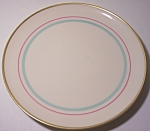 "FRANCISCAN POTTERY FINE CHINA ROSSMORE 7"" PLATE!"