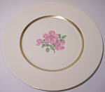 FRANCISCAN POTTERY FINE CHINA CHEROKEE ROSE SALAD PLATE