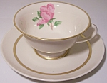 FRANCISCAN POTTERY FINE CHINA CHEROKEE ROSE CUP/SAUCER!