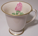 FRANCISCAN POTTERY FINE CHINA CHEROKEE ROSE DEMI CUP!