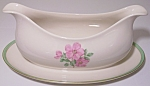 Click to view larger image of FRANCISCAN POTTERY FINE CHINA CHEROKEE ROSE GRAVY BOWL! (Image1)
