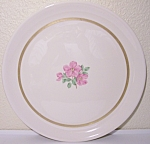 FRANCISCAN POTTERY FINE CHINA CHEROKEE ROSE CHOP PLATE!