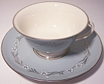 FRANCISCAN POTTERY FINE CHINA DEL RIO CUP/SAUCER SET!