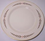 FRANCISCAN POTTERY FINE CHINA MOUNTAIN LAUREL LUNCH PLT