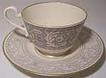 FRANCISCAN POTTERY FINE CHINA RENAISSANCE CUP/SAUCER!