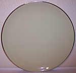 FRANCISCAN POTTERY FINE CHINA WILLOW CHOP PLATE!