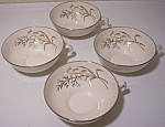 FRANCISCAN POTTERY FINE CHINA WINTER BOUQUET SET/4 CUPS