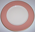 FRANCISCAN POTTERY FINE CHINA PALOMAR PINK SALAD PLATE!