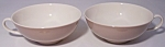 FRANCISCAN POTTERY FINE CHINA SANDLEWOOD PAIR CUPS!