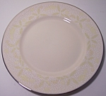 FRANCISCAN POTTERY FINE CHINA CRINOLINE BREAD PLATE!