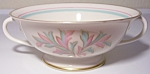FRANCISCAN POTTERY FINE CHINA ROSSMORE CREAM SOUP BOWL!
