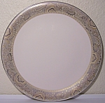 Click to view larger image of FRANCISCAN POTTERY FINE CHINA NOUVELLE IVORY DINNER PLT (Image1)