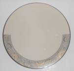 FRANCISCAN POTTERY FINE CHINA NOUVELLE IVORY DINNER PLT