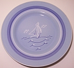 "Click to view larger image of FRANCISCAN POTTERY DEL MAR 8.5"" SALAD PLATE! (Image1)"